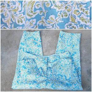 Jones New York Sz 16 Floral Leaf Pants